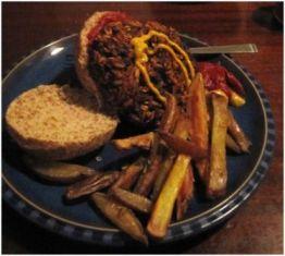 Mmmm, burger.