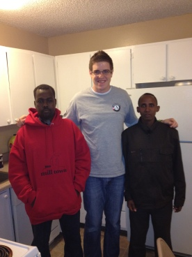 Gresham Shane Young with Refugee Clients