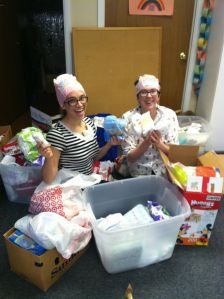 Missoula YWCA SortingDiapers